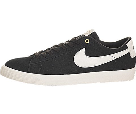 Blazer Herringbone Nike (Nike SB Blazer Low GT QS Black/Sail Skate Shoes-Men 8.0, Women 9.5)