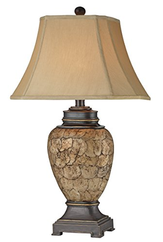 Urn Shell Table Lamp - Set of 2