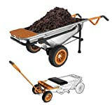 8-in-1 Wheelbarrow AeroCart & Wagon Kit Combo- WG050 + WA0228