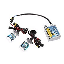 12V 35W H4-1 HID Xenon Lamp Conversion Kit Set (Thick Ballast) , 12000K