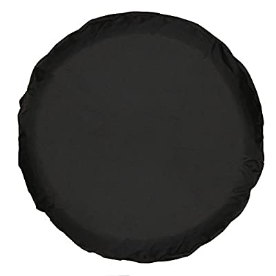 """Greyghost Spare Tire Cover PVC WaterProof Dust-proof Universal Spare Wheel Tire Cover Fit for Jeep,Trailer, RV, SUV and Many Vehicle 14"""" 15"""" 16"""" 17"""""""