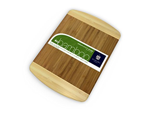 Madeira BM-02 Eco Bamboo Utility Cutting Board, Small ()
