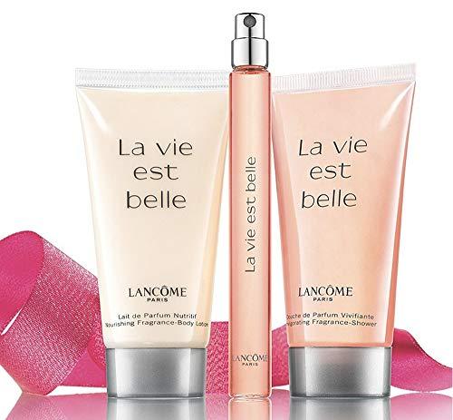 Lancome La Vie Est Belle Perfume Body Lotion & Shower Gel Gift Set Eau De Parfum Body Lotion