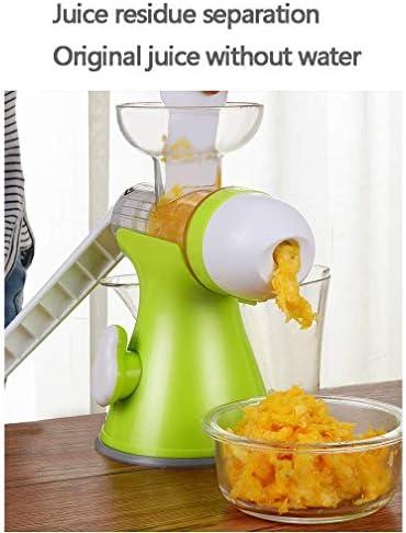 HYISHION 2 en 1 Juicer Manuel pour, Machine de crème glacée Main électrique Maker, jus de séparation des résidus Dessert, Enfants Adultes Bébé SKYJIE