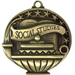 3-Pack Express Medals Social Studies Medals