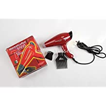 110 V. CHJPRO Mega 3000 Power HairDryer/ing110V Blow Red Styling ToolsSecador De Cabelo With Comb And Nozzle Hours AC Turbo Motor (Red Color)