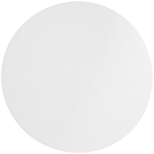 Whatman 1005-240 Qualitative Filter Paper Circles, 2.5 Micron, 94 s/100mL/sq inch Flow Rate, Grade 5, 240mm Diameter (Pack of 100)