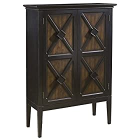 Pulaski 806068 Norman Finish Accent Cabinet with W...