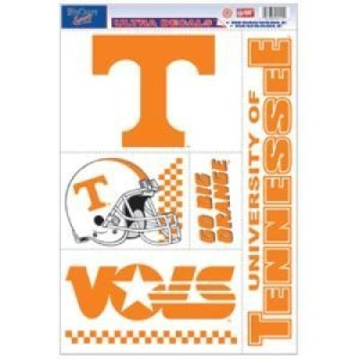 WinCraft Tennessee Volunteers Ultra Decal - 11'' X 17''