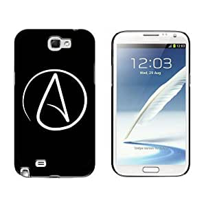 Atheism Symbol Case for Samsung Galaxy Note II 2 Black iphone casephonease iphone