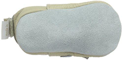 ShooShoos Penguin - Patucos de cuero para niño - Off White (Cream)