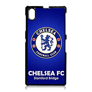Chelsea Soccer Club Cover Case Contracted Series Plastic Case Snap On Sony Xperia Z1 Liverpool Logo