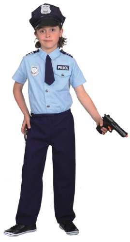Polizist Kinder Kostum Junge Karneval Fasching