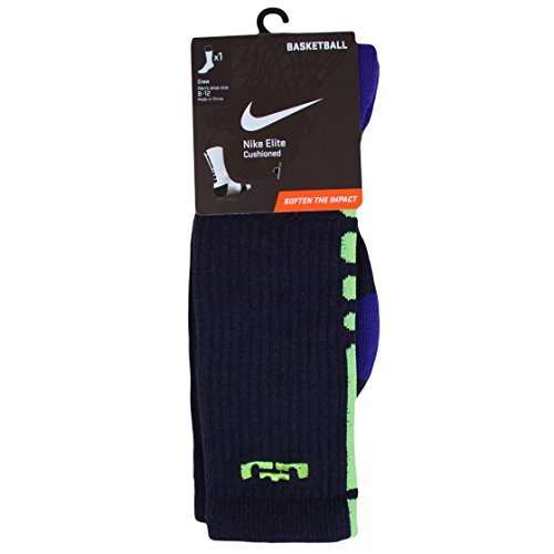 Nike Lebron Vi (Nike Lebron Elite Basketball Crew Socks Medium (6-8))
