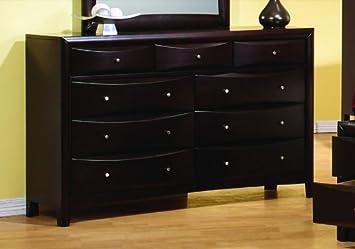 Coaster Phoenix Bedroom Collection Solid Hardwood Storage Dresser Great Ideas