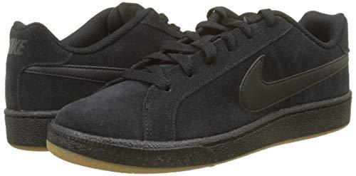 Royale Brown Gimnasia Court Hombre Zapatillas Nike Black Gum Light para Black Negro Suede de 008 qgB5wFx