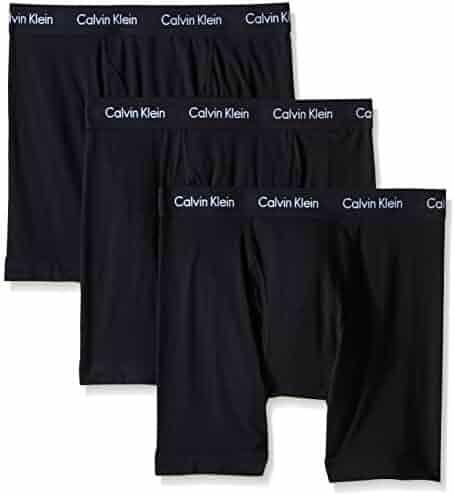Calvin Klein Men's Underwear Cotton Stretch 3 Pack Boxer Briefs