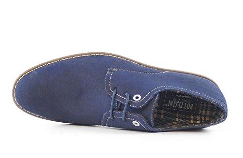 Fitters Footwear - Zapatos de cordones de Material Sintético para hombre Azul azul