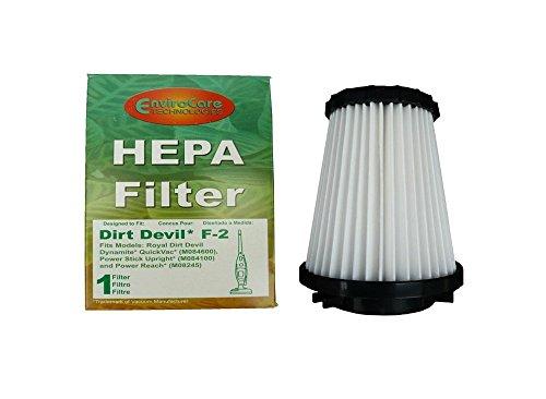 Dirt Devil Royal Dynomite Bagless Type F-2 Hepa Cartridge Vacuum Filter Generic Part # 929 (Dirt Devil 3sfa11500x compare prices)