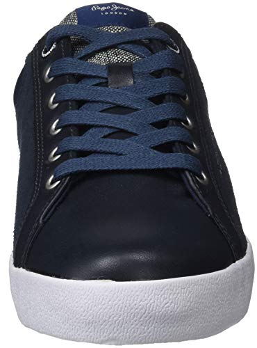 Mix Basses North Homme Pepe Sneakers Bleu Marine Jeans gEBqH
