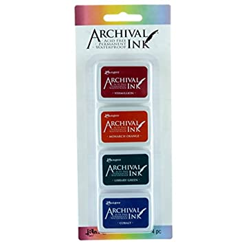 Ranger Archival mini Ink Pads kit 1 RGRAIMK.57673