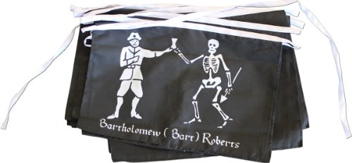 Flagline Pirate (Historic) - 25 ft String Banner