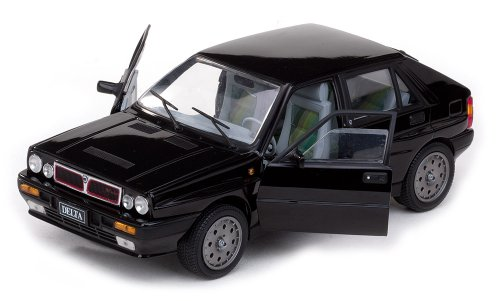 Amazon.com: Sunstar 1/18 Scale - 3151 Lancia Delta HF Integrale 8V - Black: Toys & Games