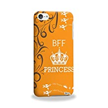 Pin-1 [Apple iPod Touch 6] 3D Printed Snap-on Hard Case - BFF princess quote DSE0220