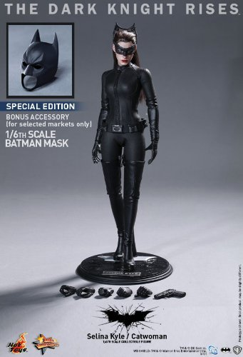 (Toy sapiens limited [Movie Masterpiece The Dark Knight Rises 1/6 scale figure Catwoman / Selina Kyle bonus accessories by Hot)