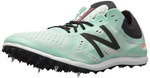 New Balance Women's LD5v5 Track Shoe, Seafoam/Vivid Coral, 6.5 B US by New Balance
