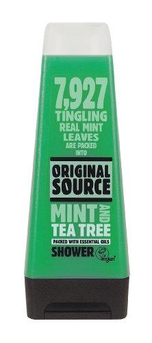 Original Source Tea Tree & Mint Shower Gel 250ml - (Pack of 6)