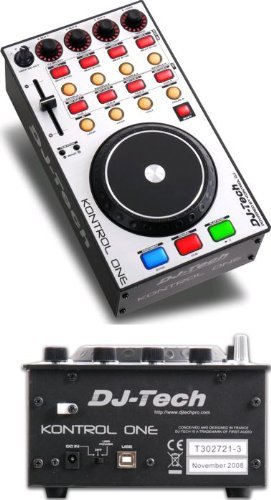 DJ-Tech Kontrol One USB MIDI DJ Package Usb Dj Controller Packages