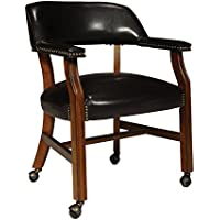 International Concepts D351-603C Rockwood Castor Chair, Antique Cherry