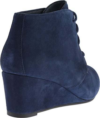 Vionic Elevated Becca Navy Wedge Women's Bootie pSpAqwTU