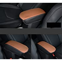 FMtoppeak Orange Center Console Armrest Cushion Pad Guard Cover for 2014 UP Jeep Renegade