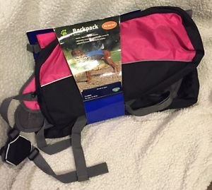 Amazon.com : Top Paw Pink Dog Backpack~XL~ : Pet Supplies