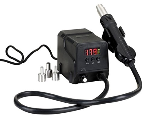 Zhongdi Heißluft SMD Entlötstation ZD-8908 300W 100-500°C 20l/min Kompakt Leicht