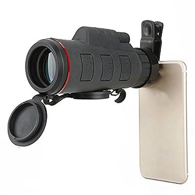 WH Télescope Monoculaire 35X50 Télescope Haute Définition Télescope à Haute Définition