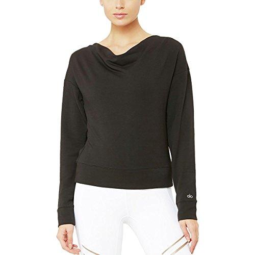 Alo Yoga Women's Uplift Long Sleeve Top, Black, M Street Chic Women Apparel Retail