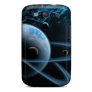 Excellent Design 3d Art Cosmos Space Phone Cases For Galaxy S3 Premium Tpu Cases