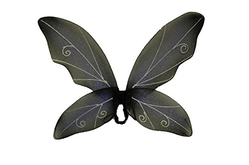 Costume-Accessory Wings Fairy Blue Black Halloween Costume Item – 1 size