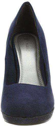Navy Comb Tozzi EU 22441 35 Noir Bleu Escarpins Femme Marco RvxAwaqq