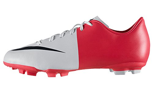 Nike Junior Mercurial Victory III Firm Ground Football Boots - 2.5 - Red