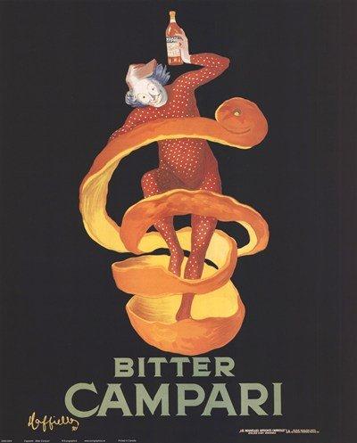 (Bitter Campari by Leonetto Cappiello Poster Print, 16x20)