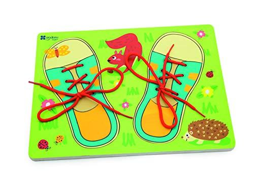 1 3 Andreu Puzzle Lacets 22 nbsp;cm 30 Chaussures nbsp;x 5 multicolore nbsp;x Toys 0qYnx0R