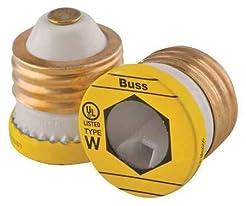 Cooper Bussmann W-3 Buss Plug Fuse, Type...