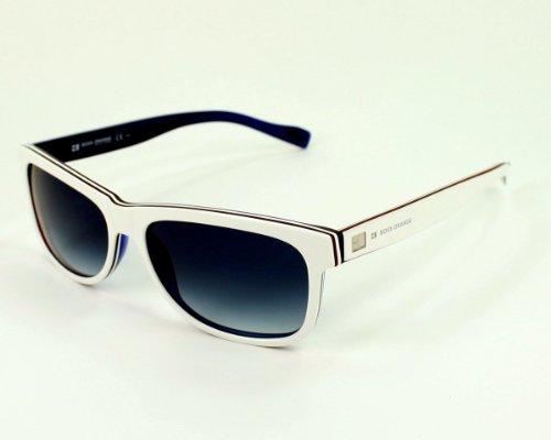 Boss Orange 0083/S Sunglasses White Red Blue / Dark Blue - Blue Sunglasses Orange Boss