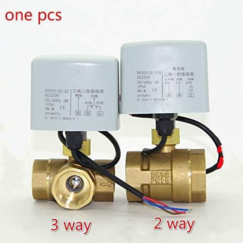 1 inch AC220v DC24v DC12v motorized brass ball valve 3 way dn25 plumbing valve electrovalve electric drive actuator CN01 CN02 Inlet Voltage : DC12V, Wiring Control : CN02