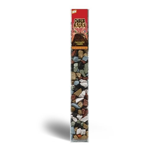 4 PACK ChocoRocks Chocolate Rocks – 3oz. Tube