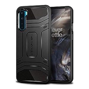 KAPAVER® Impulse Transparent Hybrid Hard PC Back TPU Bumper Impact Resistant Protection Back Cover Case for OnePlus Nord…